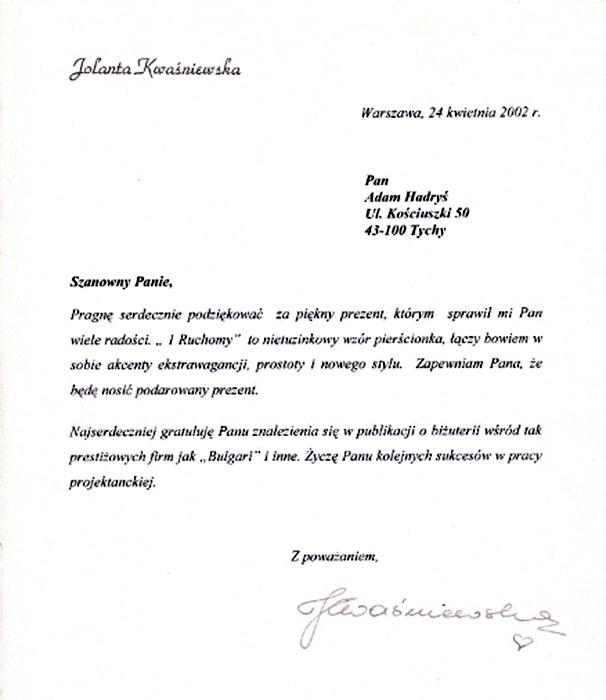 list_kwasniewskiej